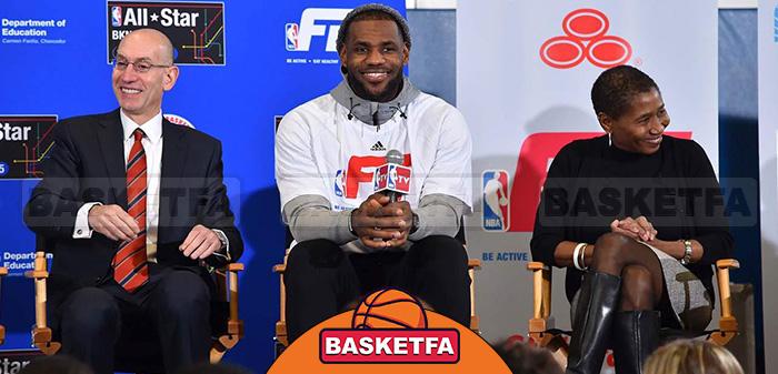 بازیکنان بسکتبال NBA لبران جیمز