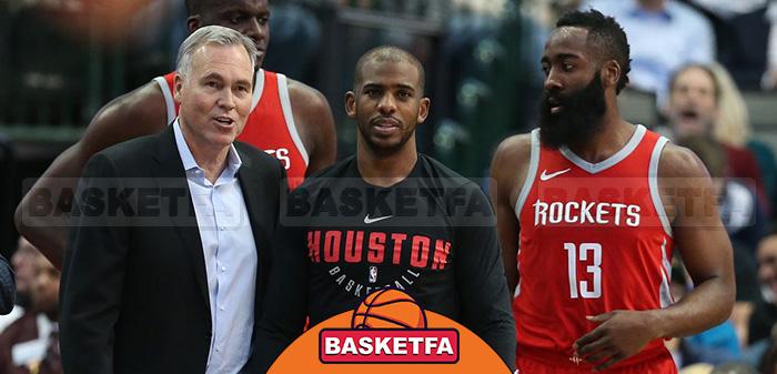 لیگ بسکتبال NBA هیوستون راکتس