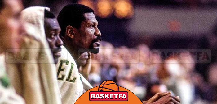 بیل راسل ستارگان بسکتبال NBA