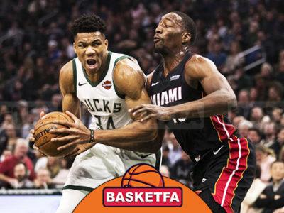 میلواکی باکس میامی هیت لیگ بسکتبال NBA