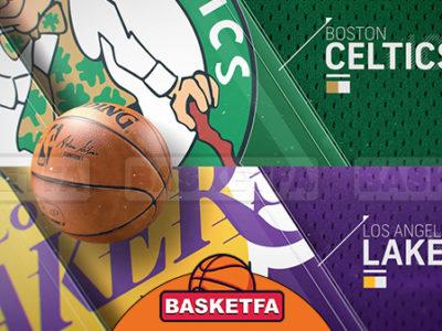 سلتیکس لیکرز لیگ بسکتبال NBA