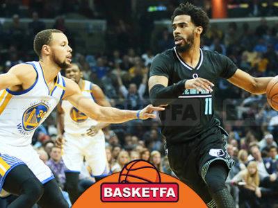 ممفیس گریزلیز گلدن استیت واریرز لیگ بسکتبال NBA