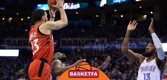 اوکلاهما سیتی تورنتو لیگ بسکتبال NBA