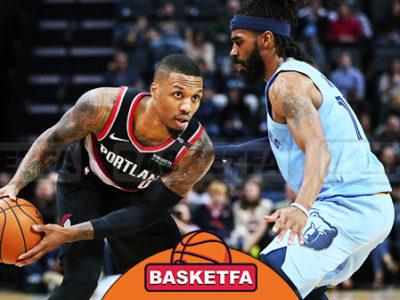بلیزرز و گریزلیز لیگ بسکتبال NBA