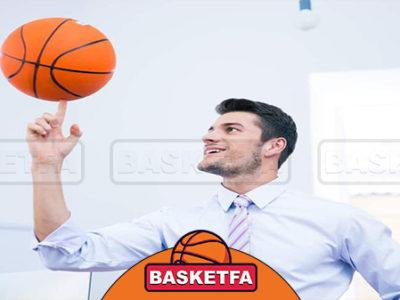 چرخاندن توپ بسکتبال