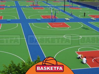 زمین های بسکتبال عمومی