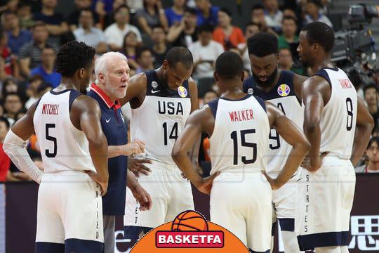 تیم ملی بسکتبال آمریکا-جام جهانی بسکتبال-بسکتبال آمریکا