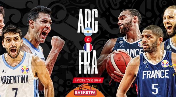 جام جهانی بسکتبال-تیم ملی بسکتبال آرژانتین-تیم ملی بسکتبال فرانسه