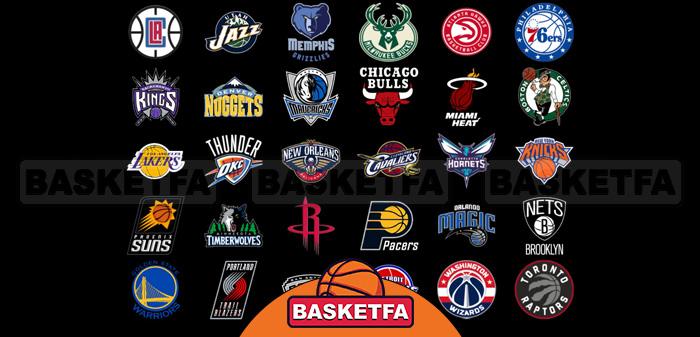 تیم های بسکتبال NBA
