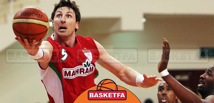 جکسون در تیم مهرام ایران