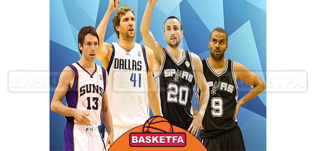 بهترین بازیکنان غیر آمریکایی بسکتبال NBA