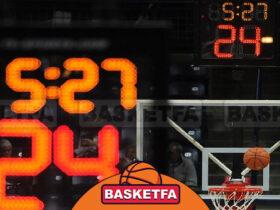 مدت زمان بسکتبال