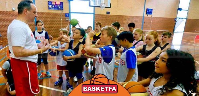 آموزش بسکتبال در کودکان