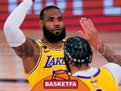 میامی هیت و لس آنجلس لیکرز بسکتبال NBA