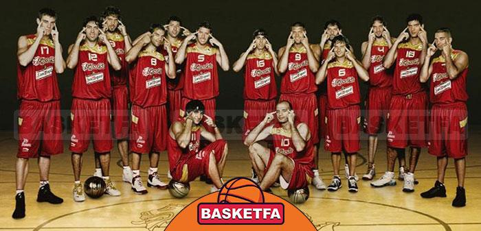 تیم ملی بسکتبال اسپانیا