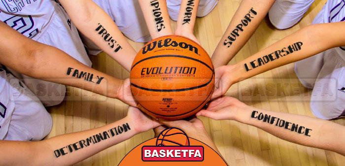 کار گروهی در بسکتبال