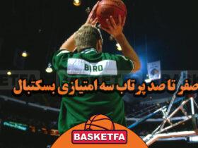 پرتاب ۳ امتیازی بسکتبال
